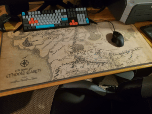 My new LotR mouse mat just came in the mail!: F10  F11  F12  8.  M.  Fosh  Erp  Lack  Ine  Cal  Mithlo  Havens)  Tower Hille  brandywi  Bridge  ACG  idgewater  THE SHIRE  RHUD  ndge  Ctelf of Lhan  Trellshaw  weathertop  Hobbiton  Rivendell  Celduin  1dFor d  Bree  Down  Bruinen  Toudwater  HArlond  (Rver TRunncng)  South Down  NIngic  GooT  Ninglora  YGlesdan  Lelds)  (adder  Sarn Ford  tregion  Hollin  Morla  Gate  Harlindon  wine)  East  Bight  Ntn-in Eilph  (Swanfleet)  Tharbad  Drimrill Dale  Baranduin  22 of  Glanduin  Eryn Vorn  Great River)  LÖRIEN  ION  MINHIRIATH CARDOTAN  Field of  Celebrant  NOATH  UNDEEP  Gwashlo Greyflood)  Limlight  The BROWN  LANDS  Lond  Daer  SOUTH  UNDEEP  The  Wold  ENEDWAITH  Isengard  FANGORN  ROHAN  East  Emnet  Fords of 1sen  West  WESTFOLD Emnet  Dagorlad (Battle Plain)  (Usen)  Helm's  Deep  Deade  Marshes  Adorn  Sarn Gebir  (Entwiash)  Morannon  ngren  ERED LITHUI (hntains)  Snowbe  EASTFOL O  udun  Nindalf  (wetwang)  The Realm Of  Isenmouthe  Sa CAIR  AN DROS  Mines  Anórien Tirith  ERED  MIDDIE EARTH  NIMRAIS  Barad-dür  Erech  Gorgoroth  MORDOR  Steau f Gorgor  MORIUL  pigiliach  Emyn  Arien  of  .  Miles  catos  Pinnath Gelin  200  150  50  100  Anfalas (Langstrand) Edhellond  nroth  orthil)  Forlindon  Mouatains  .3B  Mithat  Road  Dunland  Andui  MIRKWOOD  Drúwaith laur  Lefnul  EMYN MUIL  alls of Raures  Stream  Asinth  Gilrain  LOssarnach My new LotR mouse mat just came in the mail!