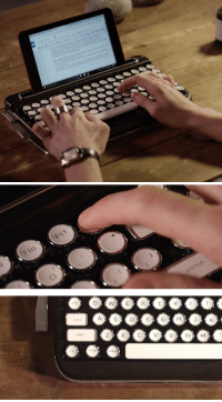 "Bluetooth, Tumblr, and Blog: F11  F10  CAPS  SHIFT <p><a href=""https://novelty-gift-ideas.tumblr.com/post/159835961058/penna-retro-bluetooth-keyboard-starting-as-low"" class=""tumblr_blog"">novelty-gift-ideas</a>:</p><blockquote><p><b><a href=""https://novelty-gift-ideas.com/penna-retro-bluetooth-keyboard/"">Penna - Retro Bluetooth Keyboard, Starting as low as $99</a></b></p></blockquote>"