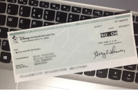 "<p><a href=""https://loloftheday.tumblr.com/post/166573857115/first-paycheck-from-youtube-goodbye-poverty"" class=""tumblr_blog"">loloftheday</a>:</p>  <blockquote><h2>First paycheck from Youtube, goodbye poverty</h2></blockquote>: F6  F8  5  F9  F10  6  011308727  VERİFY THE AUTHENTİCİTY OF THIS SECURE DOCUMENT. THIS DOCUMENT is PRINTED IN GREEN  62-20/311  05/15/2017  DATE  İSNE Worldwide Services, Inc.  LAKE BUENA VISTA, FL 32830  PAY  VOID OVER $0.08  a Zero And 08/100 Dollars  VOID AFTER 180 DAYS  TO THE ORDER OF:  Citibank NA.  one Pen, DE 19720  New Castle, DE 19720  Ctrl  PgDn <p><a href=""https://loloftheday.tumblr.com/post/166573857115/first-paycheck-from-youtube-goodbye-poverty"" class=""tumblr_blog"">loloftheday</a>:</p>  <blockquote><h2>First paycheck from Youtube, goodbye poverty</h2></blockquote>"