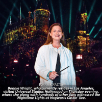 NEWS | Snitch Seeker ⠀⠀⠀⠀⠀⠀⠀⠀⠀⠀⠀⠀⠀ — Imagine going to the park and not knowing Bonnie was there too. I've bet that has happened to loads of people. ⠀⠀⠀⠀⠀⠀⠀⠀⠀⠀⠀⠀⠀— harrypotter bonniewright: FA  Bonnie Wright, who currently resides in Los Angeles,  visited Universal Studios Hollýwood on Thursday evenin  where she along with hundreds of other fans witnessed the  'Nightfime Lights at Hogwarts Castle' live. NEWS | Snitch Seeker ⠀⠀⠀⠀⠀⠀⠀⠀⠀⠀⠀⠀⠀ — Imagine going to the park and not knowing Bonnie was there too. I've bet that has happened to loads of people. ⠀⠀⠀⠀⠀⠀⠀⠀⠀⠀⠀⠀⠀— harrypotter bonniewright