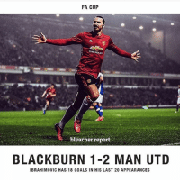 Job done..!! Into the Quarter finals of the FA Cup..!! Zlatan scored the winning goal as he and pogba came on as substitutes midway through in the second half..!! Pogba provided the assist for Zlatan's winner And Rashford previously equalised for Manchester United..!! We were little poor overall but job well done in the end and Ashley young was probably our best performer...!!!: FA CUP  bleacher report  BLACKBURN 1-2 MAN UTD  IBRAHIMOVIC HAS 18 GOALS IN HIS LAST 20 APPEARANCES Job done..!! Into the Quarter finals of the FA Cup..!! Zlatan scored the winning goal as he and pogba came on as substitutes midway through in the second half..!! Pogba provided the assist for Zlatan's winner And Rashford previously equalised for Manchester United..!! We were little poor overall but job well done in the end and Ashley young was probably our best performer...!!!