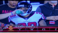 Memes, 🤖, and Ice: FA  I TONIGHT  TERRON WARD RB 28  YARDS  39  AVG  6.5  TO Whatever you say Matty Ice https://t.co/6lzOVuuuFm