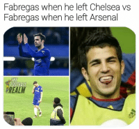Arsenal, Chelsea, and Football: Fabregas when he left Chelsea vs  Fabregas when he left Arsenal  OHANA  ES  FOOTBALL  REAL The difference... 😅