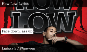 Final, sorry, ass down face lyric up opinion
