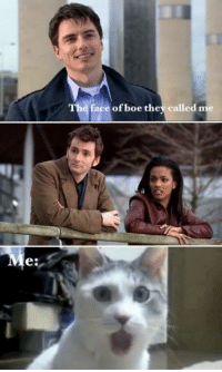 Memes, 🤖, and Face: face of boe they called me  e: