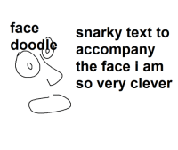 Counter-Signal Counter-Signal Memes for Fashy Goys Meme: face  snarky text to  doodle accompany  am  so very clever Counter-Signal Counter-Signal Memes for Fashy Goys Meme