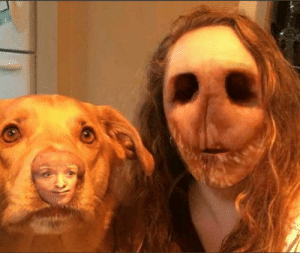 Face swap gone wrong: Face swap gone wrong