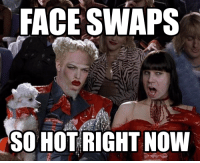 Lol, Hot, and Face: FACE SWAPS  SO HOT RIGHT NOW Face swaps recently...