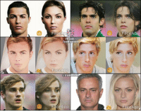 If they were female (Tag your friends 😆😆 ) https://t.co/C65YwKJC8m: FaceApp  Fb.com/  Trollfootball  FaceAOO  @TrolIFoothall  FaceApp  FaceApp If they were female (Tag your friends 😆😆 ) https://t.co/C65YwKJC8m
