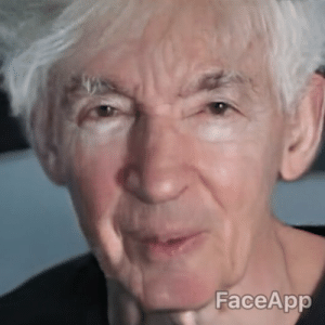 Faceapp Ok So I Put The Old Person Filter From Faceapp Over My