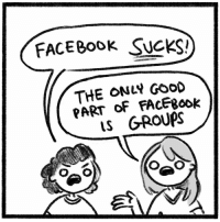 Facebook, Memes, and Free: FACEBOOK SUCKS!  THE ONL GooD  PART OF FACEBOOk  LS G-ROUPS Hey Mark delete your website so we can finally be free