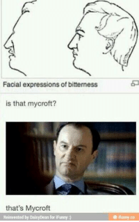 Memes, Express, and Vatican: Facial expressions of bitterness  is that mycroft?  that's Mycroft  Reinvented by DaisyDean for iFunny  ifunny co ~Vatican Cameos~