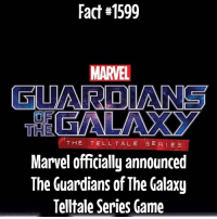 Memes, Guardian, and Guardians of the Galaxy: Fact#1599  MARVEL  GUARDIANS  THE  THE TELL TALE SE RIES  Marvel officially announced  The Guardians of The Galaxy  Telltale Series Game I can see it now! I am Groot or I am Groot... Star Lord will remember that...