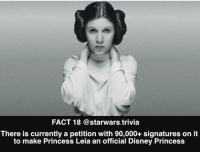 ⚫️ Who is your favorite female character from the Star Wars universe?⚫️ - starwars force nerd cool me geek nice like follow reach tuesday instagood awesome coolbeans nerdy cosplay earth: FACT 18 @starwars trivia  There is currently a petition with 90,000+ signatures on it  to make Princess Leia an official Disney Princess ⚫️ Who is your favorite female character from the Star Wars universe?⚫️ - starwars force nerd cool me geek nice like follow reach tuesday instagood awesome coolbeans nerdy cosplay earth