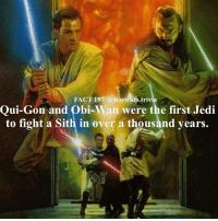 ♦️What is the best lightsaber fight in Star Wars?♦️ - starwars stormtrooper firstorderstormtrooper superbowl swtfa jedi sith more movie me cool instagood dc marvel follow like awesome nerd geek nerdness force jedi sith: FACT 197 a starwars.trivia  Qui-Gon and Obi-W  were the first Jedi  an to fight a Sith in over a thousand years. ♦️What is the best lightsaber fight in Star Wars?♦️ - starwars stormtrooper firstorderstormtrooper superbowl swtfa jedi sith more movie me cool instagood dc marvel follow like awesome nerd geek nerdness force jedi sith