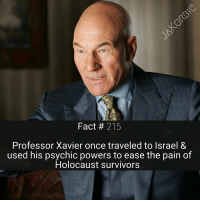 Memes, Some More, and SpiderMan: Fact 215  Professor Xavier once traveled to Israel &  used his psychic powers to ease the pain of  Holocaust survivors It's been a while , since I've posted Star Wars facts 🤔 do you guys want some more Star Wars ?🌌 《 Tag Your Friends 》 - - - Marvel Comics ProfessorX Wolverine XMen Avengers IronMan CaptainAmerica Spiderman BlackPanther DoctorStrange Hulk Thor Groot BlackWidow ScarletWitch BuckyBarnes Daredevil Punisher Antman StarWars MarvelCinematicUniverse MarvelComics