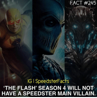 About damn time TheFlash ReverseFlash Zoom Savitar: FACT #245  IGISpeedsterFacts  THE FLASH, SEASON 4 WILL NOT  HAVE A SPEEDSTER MAIN VILLAIN. About damn time TheFlash ReverseFlash Zoom Savitar