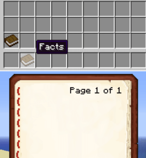 Minecraft facts book template. Invest quickly!: Facts  Fage 1 of 1 Minecraft facts book template. Invest quickly!