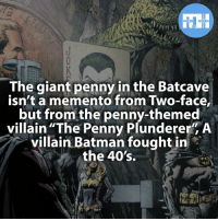 """▲▲ - Who is your favourite Batman villain? - Also check out my other IG accounts @factsofflash @yourpoketrivia @webslingerfacts ⠀⠀⠀⠀⠀⠀⠀⠀⠀⠀⠀⠀⠀⠀⠀⠀⠀⠀⠀⠀⠀⠀⠀⠀⠀⠀⠀⠀⠀⠀⠀⠀⠀⠀⠀⠀ ⠀⠀--------------------- batmanvssuperman xmen batman superman wonderwomen deadpool spiderman hulk thor ironman marvel captainmarvel theflash wolverine daredevil aquaman justiceleague youngjustice blackpanther greenlantern joker captainmarvel batmanvsuperman captainamerica homecoming flash nightcrawler nightwing avengers: FACTS HEROES  The giant penny in the Batcave  isn't a memento from Two-face,  but from the penny-themed  villain """"The Penny Plunderer"""" A  villain Batman fought in  the 40's. ▲▲ - Who is your favourite Batman villain? - Also check out my other IG accounts @factsofflash @yourpoketrivia @webslingerfacts ⠀⠀⠀⠀⠀⠀⠀⠀⠀⠀⠀⠀⠀⠀⠀⠀⠀⠀⠀⠀⠀⠀⠀⠀⠀⠀⠀⠀⠀⠀⠀⠀⠀⠀⠀⠀ ⠀⠀--------------------- batmanvssuperman xmen batman superman wonderwomen deadpool spiderman hulk thor ironman marvel captainmarvel theflash wolverine daredevil aquaman justiceleague youngjustice blackpanther greenlantern joker captainmarvel batmanvsuperman captainamerica homecoming flash nightcrawler nightwing avengers"""