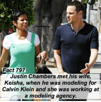 Fact 797😱 Justin Chambers met his wife, Keisha, when he was modeling for Calvin Klein and she was working at a modeling agency. — factsforgreys_justin greys greysanatomy justinchambers alexkarev izzex jolex keishachambers model modeling ck calvinklein shondaland abc ga tgit like facts likeforlike like4like dancemoms: Factsforgreys  Fact 797  Justin Chambers met his wife  Keisha, when he was modeling for  Calvin Klein and she was working at  a modeling agency. Fact 797😱 Justin Chambers met his wife, Keisha, when he was modeling for Calvin Klein and she was working at a modeling agency. — factsforgreys_justin greys greysanatomy justinchambers alexkarev izzex jolex keishachambers model modeling ck calvinklein shondaland abc ga tgit like facts likeforlike like4like dancemoms