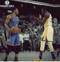 """Russell Westbrook on Kevin Durant:  """"I'd rather lose with pride, than win like a coward.""""  © NBA 24/7: FADEAWAY WORLD  MORE THAN  CITY  CITT Russell Westbrook on Kevin Durant:  """"I'd rather lose with pride, than win like a coward.""""  © NBA 24/7"""