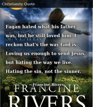 francine rivers the last sin eater