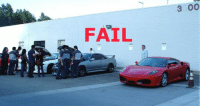 Meanwhile at the car meet..
