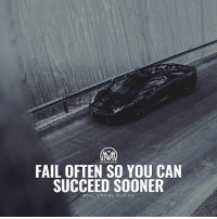 Fail, Memes, and Best: FAIL OFTEN SO YOU CAN  SUCCEED SOONER  @MILLIONAIRE MENTOR Success start with failure. Do you agree? 🤔 No one likes to fail, but in reality, failure teaches valuable lessons that can make your successes far more powerful and long lasting. The key is to experiment often to try different approaches until you find the one that works best. Making a series of small bets is the best way to come up with big results. The more you experiment, the more mistakes and outright failures you're going to encounter. Believe it or not, this is actually a good thing if you want to move the needle in your business, you've got to take risks. You've got to fail faster and better! - Leave a comment below and let me know what you think!👇👇 - success failure risk action millionairementor