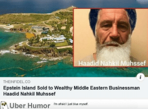 failnation:  Epstein's island sold: failnation:  Epstein's island sold