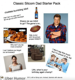 failnation:  Sitcom Dad Starter Pack: failnation:  Sitcom Dad Starter Pack