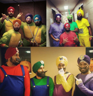 Halloween, Tumblr, and Blog: failnation:  Some Sikh Halloween costumes
