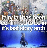 Anime, Facts, and Memes: fairy tailhas  its last story arch QOTD: Favourite Fairy Tail Character? | Follow @animee for Anime Facts | ⭐ . . Cr. @animelogics