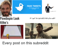 memes creator: FAKE TWEETS  The best meme creator app  for Twitter  That's  Pewdiepie Look  IF I geT 3k UpVotES Will yOu suB?  Alike's  Every post on this subreddit