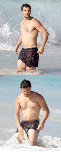 "Af, Dad, and Lmao: falafelchef:  homiedepot:  phrathouz:  malecelebhub:  TAYLOR LAUTNER  Am I the only one who thinks he is sexier with a dad bod?   That's not even a ""dad bod"" that's just like… what a normal person looks like  Lmao he fit af in these photos flat stomach big shoulders and arms…. media has destroyed our perception on the human body"