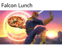 lunch: Falcon Lunch