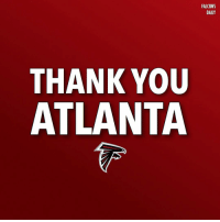 What a season it was. Thank you Falcons fans for making this season possible. RiseUp Falcons AtlantaFalcons: FALCONS  DAILY  THANK YOU  ATLANTA What a season it was. Thank you Falcons fans for making this season possible. RiseUp Falcons AtlantaFalcons
