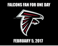 RT if this is you. RiseUp: FALCONS FAN FOR ONE DAY  @NFL MEMES  FEBRUARY 5, 2017 RT if this is you. RiseUp