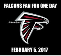 Lol 😂 Everyone a fan sunday.. haha DoubleTap if true lol Tag friends for a laugh: FALCONS FAN FOR ONE DAY  @Sports okes,  FEBRUARY 5, 2017 Lol 😂 Everyone a fan sunday.. haha DoubleTap if true lol Tag friends for a laugh