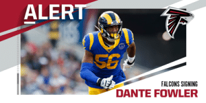 Falcons signing pass-rusher Dante Fowler. (via @RapSheet + @TomPelissero) https://t.co/7eAYCiqcHz: Falcons signing pass-rusher Dante Fowler. (via @RapSheet + @TomPelissero) https://t.co/7eAYCiqcHz