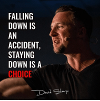 Homeless, Memes, and School: FALLING  DOWN IS  AN  ACCIDENT  STAYING  DOWN IS A  CHOICE Follow -> @davidsharpe_official Here is a JAW-DROPPING story of MULTI MILLION MARKETER @davidsharpe_official that LITERALLY started from nothing. This guy @davidsharpe_official 👇 - - Dropped out of High-school in 9th grade. - Fathered a child at 16. - Developed a drug addiction. - Was homeless. Follow -> @davidsharpe_official