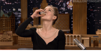 """Target, youtube.com, and Game:  #FALLO ONIGHT  BA <p><a href=""""https://www.youtube.com/watch?v=47b52GJ29Co"""" target=""""_blank"""">Shots! Rosamund Pike plays a game of Say Anything with Jimmy.</a></p>"""