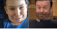 """Funny, youtube.com, and youtube.com:  #FALLON TONIGHT <p>Jimmy and Ricky Gervais have some seriously funny faces in a brand new Funny Face-Off!</p><figure class=""""tmblr-embed tmblr-full"""" data-provider=""""youtube"""" data-orig-width=""""540"""" data-orig-height=""""304"""" data-url=""""https%3A%2F%2Fwww.youtube.com%2Fwatch%3Fv%3DRYmm6porKlU""""><iframe width=""""540"""" height=""""304"""" id=""""youtube_iframe"""" src=""""https://www.youtube.com/embed/RYmm6porKlU?feature=oembed&amp;enablejsapi=1&amp;origin=https://safe.txmblr.com&amp;wmode=opaque"""" frameborder=""""0"""" allowfullscreen=""""""""></iframe></figure>"""