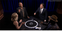 """<p><b><a href=""""https://www.youtube.com/watch?v=vw50nmWguj0"""" target=""""_blank"""">Jimmy and Kirsten Dunst face off against Will Smith and Tariq in a game of Catchphrase!</a></b></p>: <p><b><a href=""""https://www.youtube.com/watch?v=vw50nmWguj0"""" target=""""_blank"""">Jimmy and Kirsten Dunst face off against Will Smith and Tariq in a game of Catchphrase!</a></b></p>"""