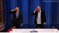 "Beer, Hockey, and National Hockey League (NHL): <p>Jimmy and David Duchovny&rsquo;s <a href=""https://www.youtube.com/watch?v=_zeFEYeIuKg&amp;list=UU8-Th83bH_thdKZDJCrn88g"" target=""_blank"">beer hockey skills</a> might very well qualify them for the NHL playoffs.</p>"