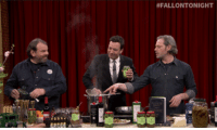 """Juice, Target, and Http: <p>Jimmy could barely wait for <a href=""""http://www.nbc.com/the-tonight-show/segments/2911"""" target=""""_blank"""">Frank Castronovo and Frank Falcinelli to finishing cooking</a> on last night&rsquo;s episode - so he drank some olive juice to tide himself over.</p>"""