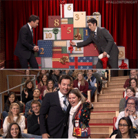"""<p><a href=""""https://www.youtube.com/watch?v=uivGAVHncxw&amp;list=UU8-Th83bH_thdKZDJCrn88g&amp;index=4"""" target=""""_blank"""">12 Days of Christmas Sweaters is back, and Jimmy surprises an audience member with a brand new sweater!</a></p>:  #FALLONTONIGHT  10 <p><a href=""""https://www.youtube.com/watch?v=uivGAVHncxw&amp;list=UU8-Th83bH_thdKZDJCrn88g&amp;index=4"""" target=""""_blank"""">12 Days of Christmas Sweaters is back, and Jimmy surprises an audience member with a brand new sweater!</a></p>"""
