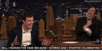 """<p><a href=""""http://www.nbc.com/the-tonight-show/video/bill-hader-scored-a-layup-on-lebron-james/2881403"""" target=""""_blank"""">Bill Hader can now say he scored on LeBron James.</a></p>:  #FALLONTONIGHT  BILL: I RUINED THE TAKE BECAUSE I SCORED AND I STARTED CELEBRATING <p><a href=""""http://www.nbc.com/the-tonight-show/video/bill-hader-scored-a-layup-on-lebron-james/2881403"""" target=""""_blank"""">Bill Hader can now say he scored on LeBron James.</a></p>"""