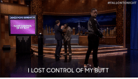 "Butt, Target, and youtube.com:  #FALLONTONIGHT  DANCE MOVE GENERATOR  ILOST CONTRO  OF MY BUTT  ILOST CONTROL OF MY BUTT <p><a href=""https://www.youtube.com/watch?v=aytS2k67CVU"" target=""_blank"">Sterling K. Brown lost control of his butt in an epic Dance Battle with Jimmy and Brian Tyree Henry!</a></p>"
