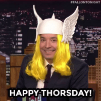 <p>Happy Thursday friends! #ThrowbackThorsday </p>:  #FALLONTONIGHT  HAPPY THORSDAY! <p>Happy Thursday friends! #ThrowbackThorsday </p>
