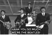 """<p>Turns out The Beatles were super tech savvy!</p><figure class=""""tmblr-embed tmblr-full"""" data-provider=""""youtube"""" data-orig-width=""""540"""" data-orig-height=""""304"""" data-url=""""https%3A%2F%2Fwww.youtube.com%2Fwatch%3Fv%3DKZYXOSvpYQ0""""><iframe width=""""540"""" height=""""304"""" src=""""https://www.youtube.com/embed/KZYXOSvpYQ0?feature=oembed"""" frameborder=""""0"""" allowfullscreen=""""""""></iframe></figure>: FALLONTONIGHT  LES  THANK YOU SO MUCH,  WE'RE THE BEATLES! <p>Turns out The Beatles were super tech savvy!</p><figure class=""""tmblr-embed tmblr-full"""" data-provider=""""youtube"""" data-orig-width=""""540"""" data-orig-height=""""304"""" data-url=""""https%3A%2F%2Fwww.youtube.com%2Fwatch%3Fv%3DKZYXOSvpYQ0""""><iframe width=""""540"""" height=""""304"""" src=""""https://www.youtube.com/embed/KZYXOSvpYQ0?feature=oembed"""" frameborder=""""0"""" allowfullscreen=""""""""></iframe></figure>"""